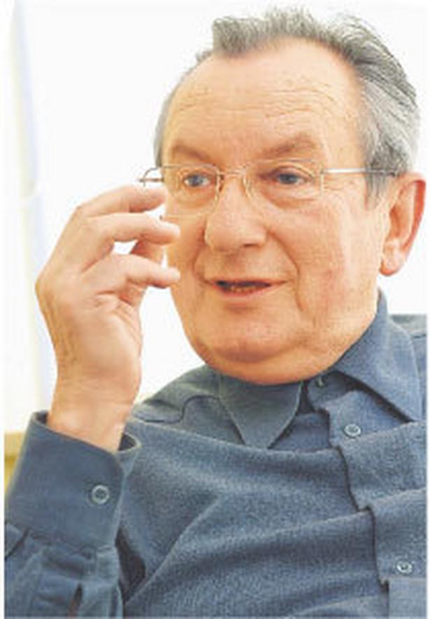 prof. Jan Winiecki, ekonomista, członek Rady Polityki Pieniężnej Fot. Gmitruk/Manager Magazin/Forum