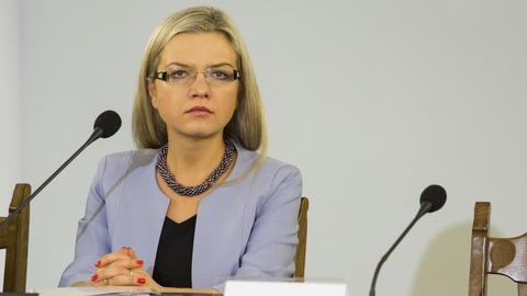 Małgorzata Wassermann, szefowa komisji śledczej ds. Amber Gold