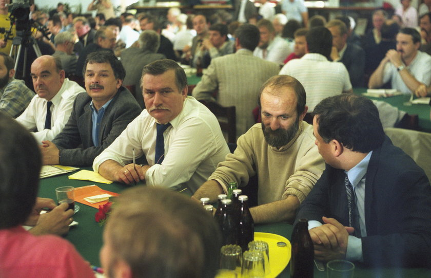 Lech Wałęsa w 1990r.