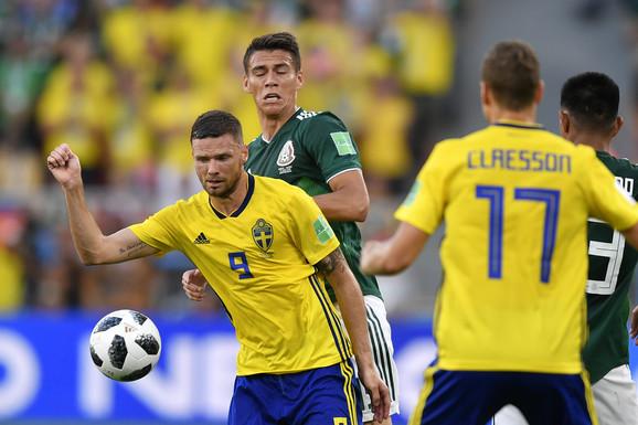 Šveđani i Meksikanci su prošli u osminu finala Mundijala