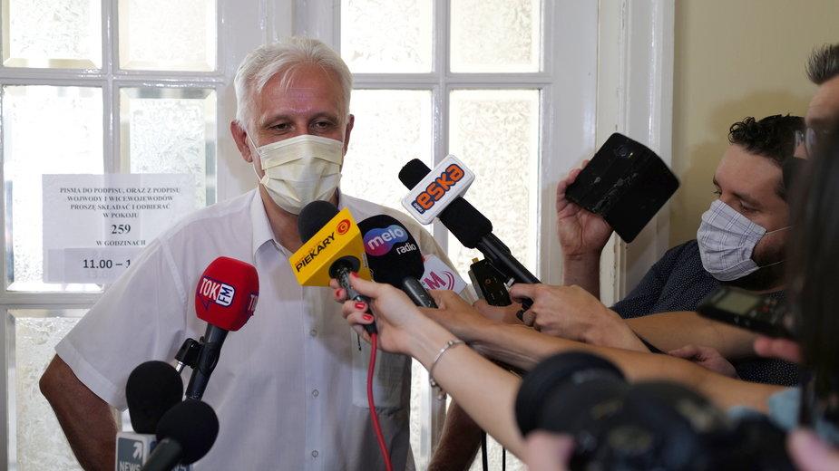 Dominik Kolorz, szef śląsko-dąbrowskiej Solidarności