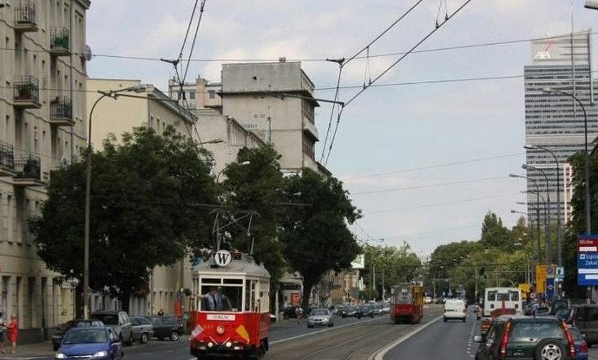 warszawa komunikacja tramwaj