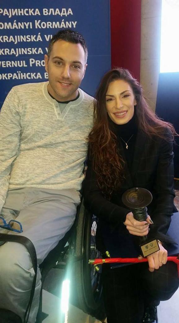 Boris sa Ivanom Španović