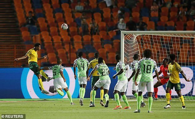 Nigeria Vs South Africa (Reuters)