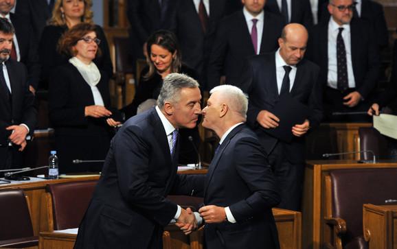 Milo Đukanovic, Duško Marković