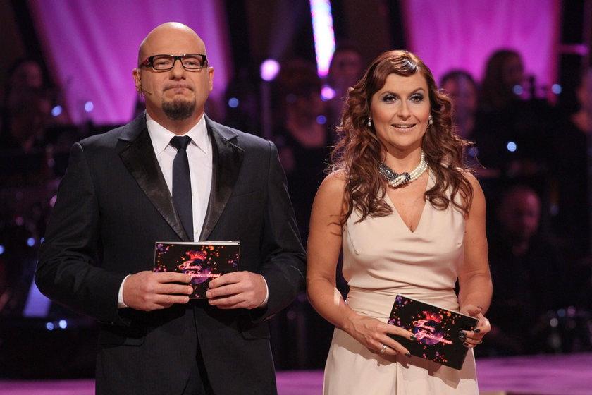 Piotr Gąsowski i Katarzyna Skrzynecka
