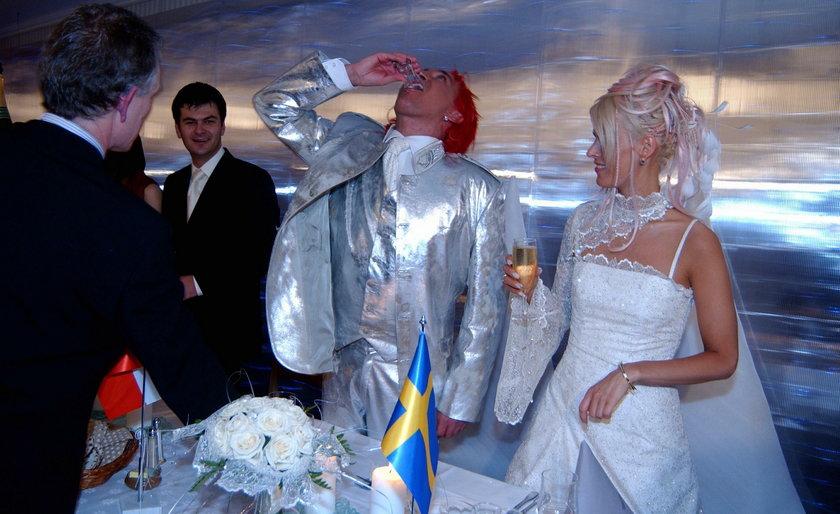 Ślub Mandaryny i Michała Wiśniewskiego