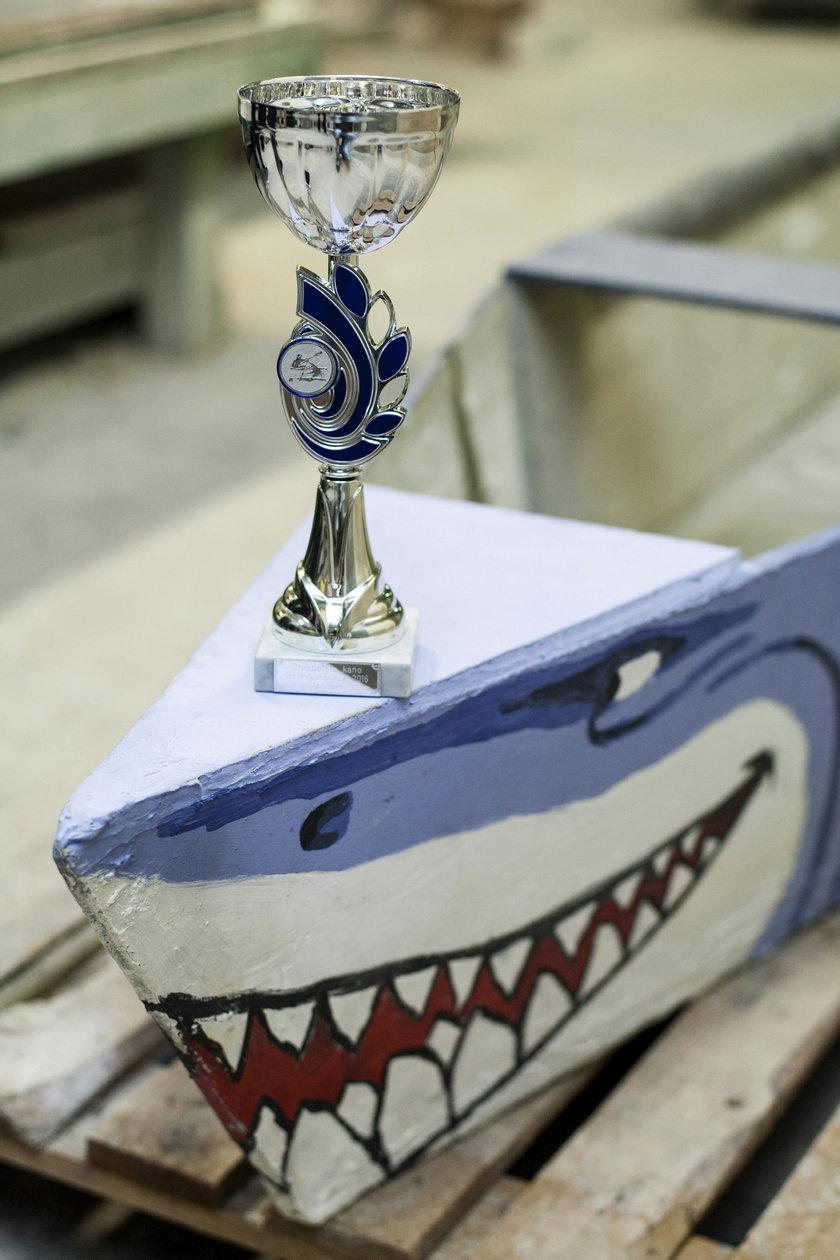 Rekin zdobył złoto za kreatywność