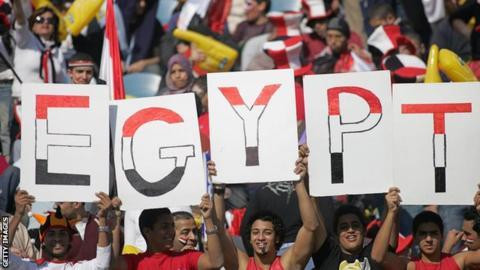 Egypt is hosting AFCON 2019