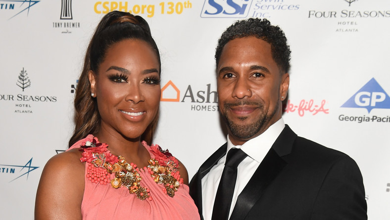 Kenya Moore and her ex-husband, Marc Daly might no longer be together but that has not ruined their relationship as they were spotted at their daughter's birthday party.[Getty]