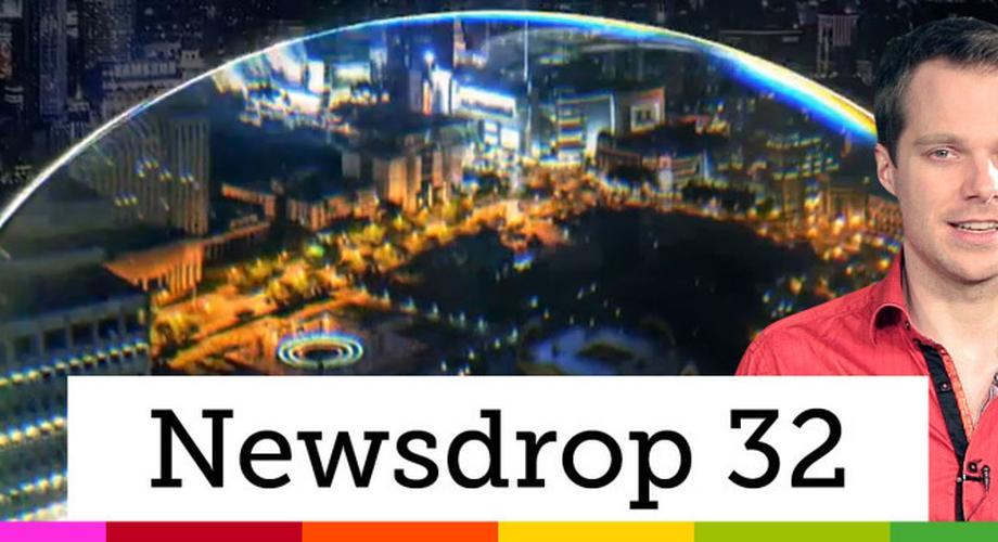 NewsDrop 32: HTC One M9+, LG G4, Apple-Watch-Camping