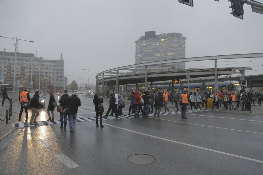 Wrocławianie walczą o pasy na Rondzie Reagana