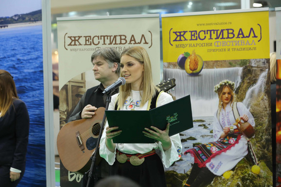 Mis Srbije Anđelija Rogić promoter