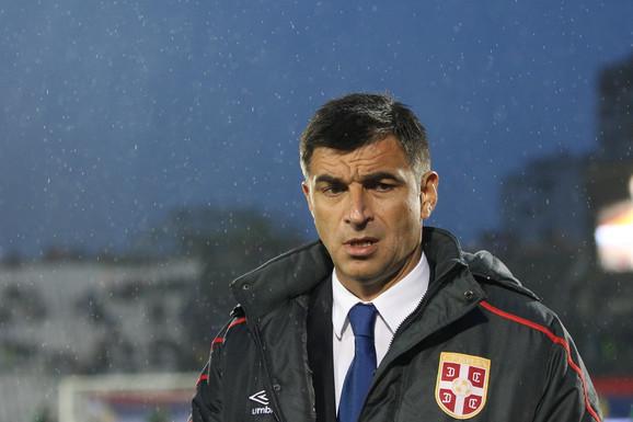 Radovan Ćurčić kao selektor Srbije