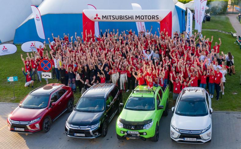 IV zlot właścicieli samochodów marki Mitsubishi zgromadził w Mrągowie aż 400 fascynatów pojazdów spod znaku Trzech Diamentów