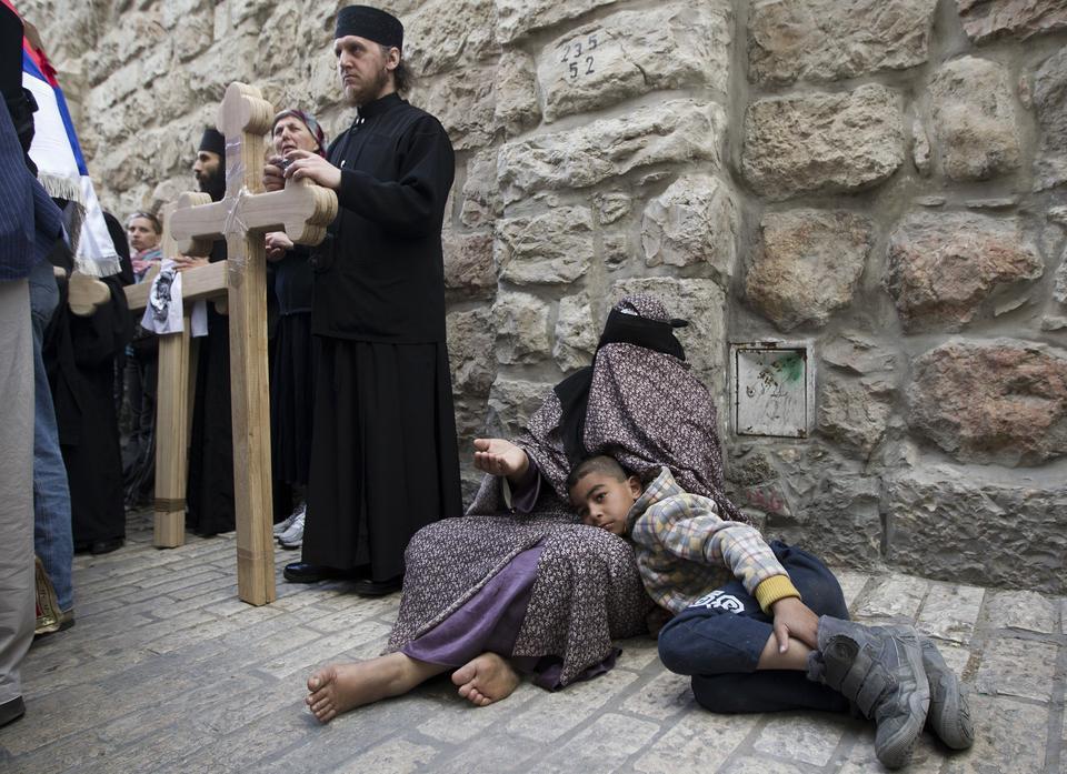 MIDEAST JERUSALEM GOOD FRIDAY