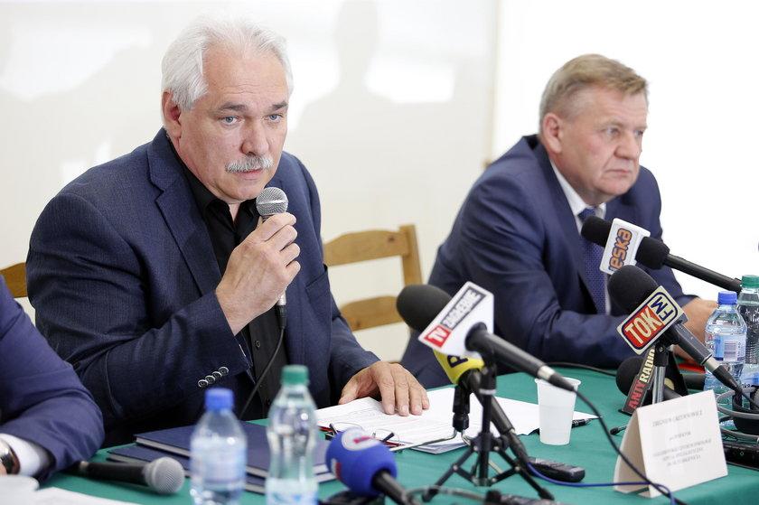 Zbigniew Grzywnowicz, dyrektor ZCO oraz Zbigniew Podraza, prezydent DG