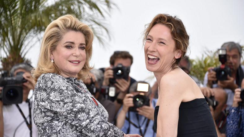 Emmanuelle Bercot i Catherine Deneuve w Cannes