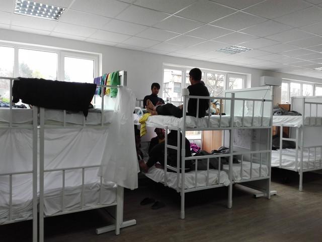 Prihvatni centar u Preševu