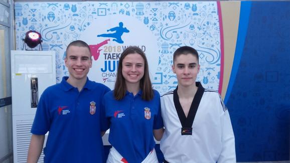 Dušan Božanić, Nadica Božanić i Bogdan Bulat