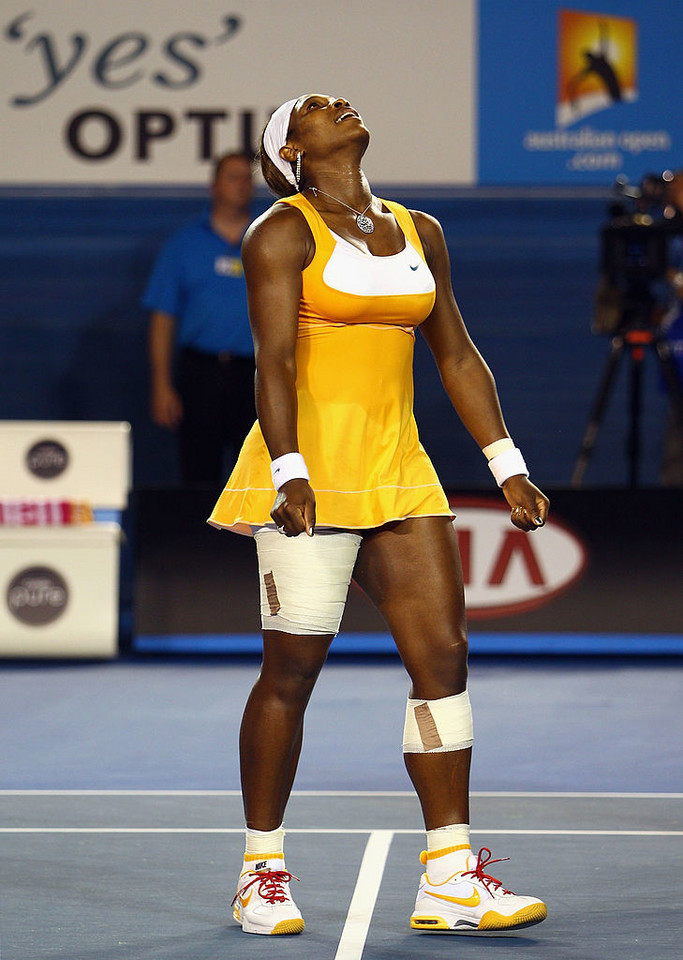 Serena Williams na AO w 2010 roku