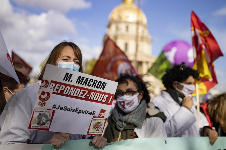Protesty w Paryżu
