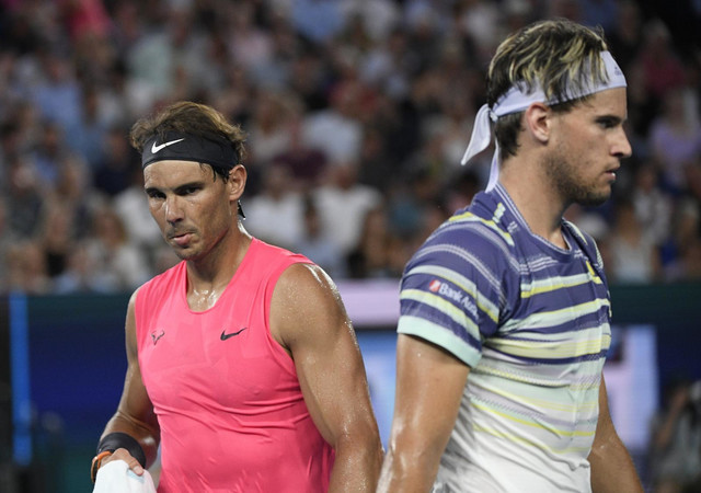 Rafael Nadal i Dominik Tim