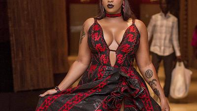 Kiss my a** - Victoria Kimani snaps at fan who called her 'fat'
