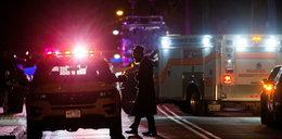 Atak w pobliżu synagogi. 5 osób rannych