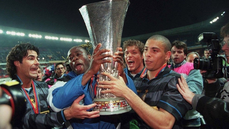 Taribo West played in the 1998 UEFA Cup final with Inter Milan (Getty Images)