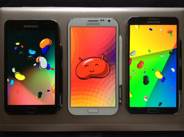 Najnowsze smartfony Samsunga