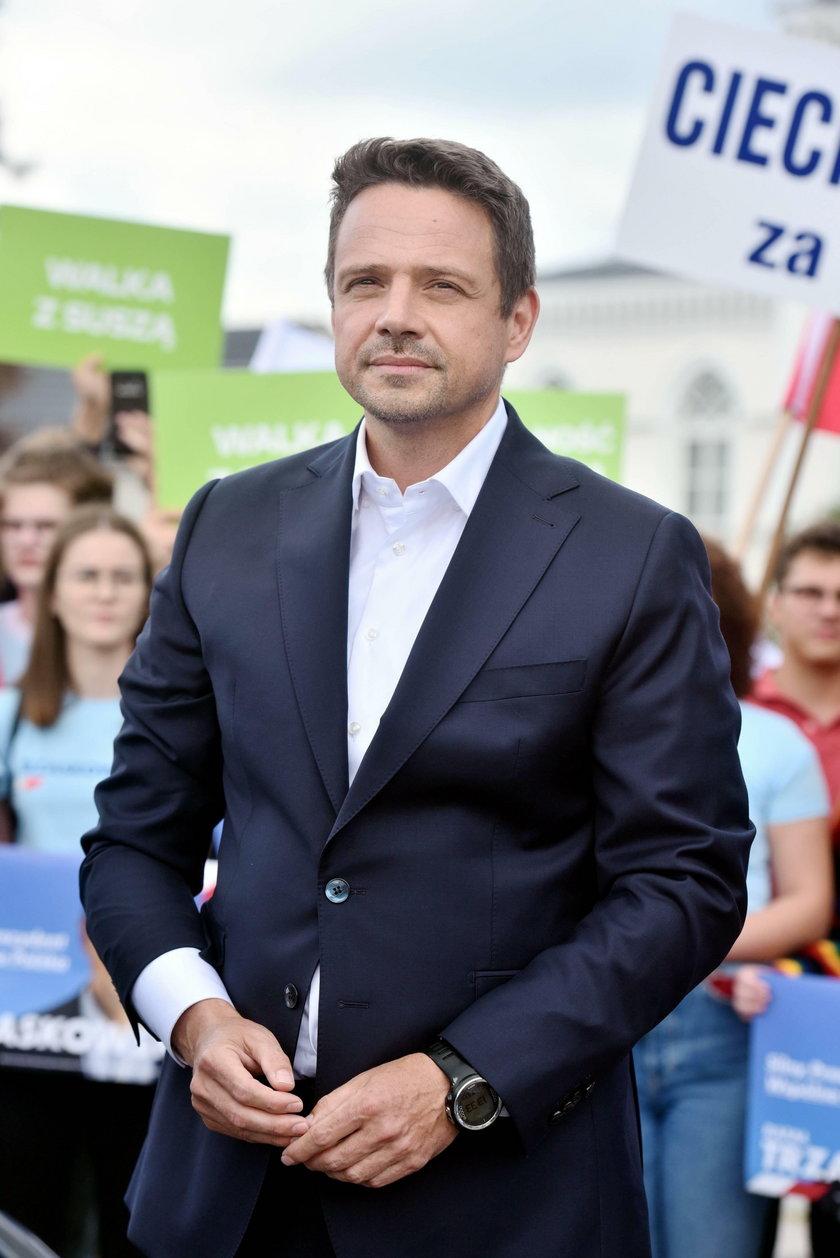 W czwartek rano Rafał Trzaskowski spotka się z prezydentem Andrzejem Dudą