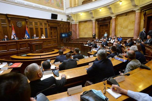 Međustranački dijalog u Skupštini Srbije