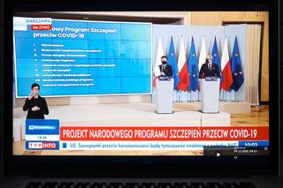 """""""Wiedza, bezpieczeństwo i dobrowolność"""". Rząd przedstawił strategię Narodowego Programu Szczepień"""