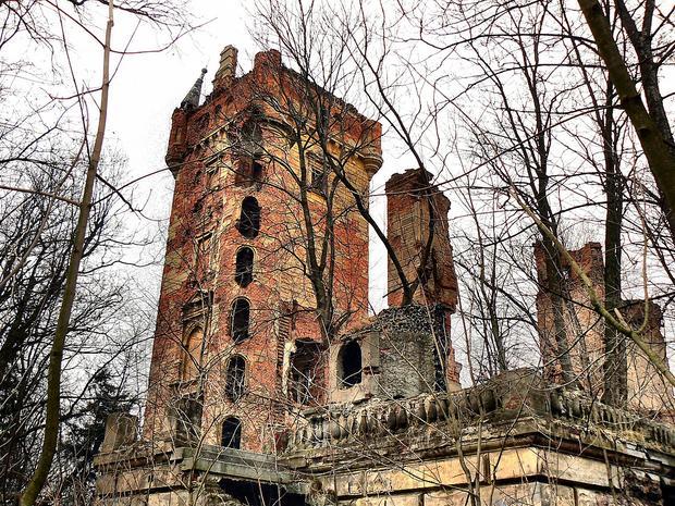 Pałac w Chwalimierzu koło Środy Śląskiej
