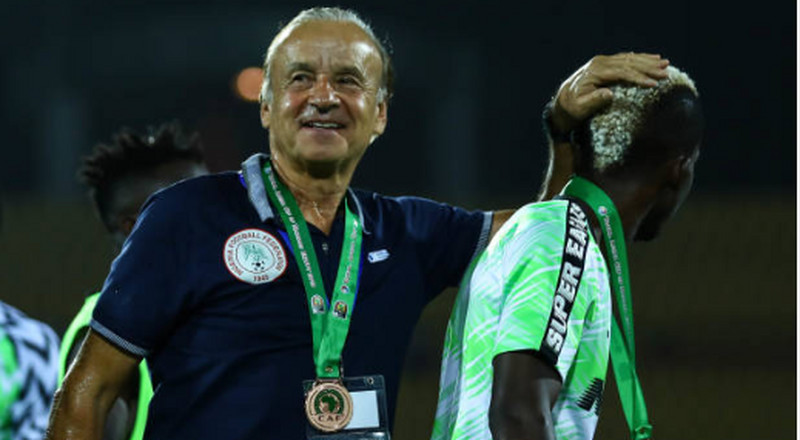NFF query Gernot Rohr for speaking to the media about the details of his contract and outstanding wages