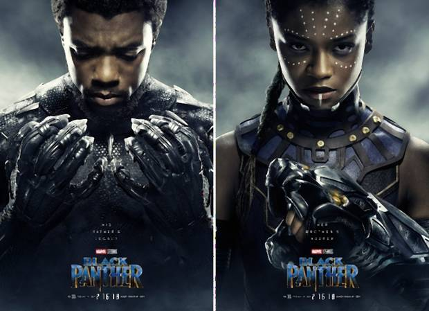 Black Panther karakterposzterek