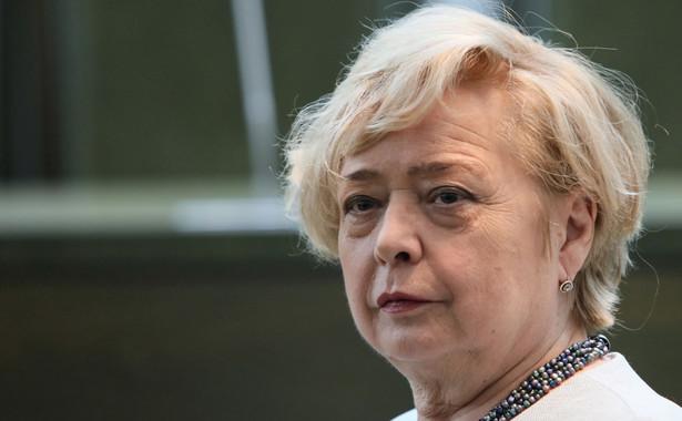 Małgorzata Gersdorf i sędzia SN Krzysztof Rączka wytoczyli proces Stanisławowi Piotrowiczowi