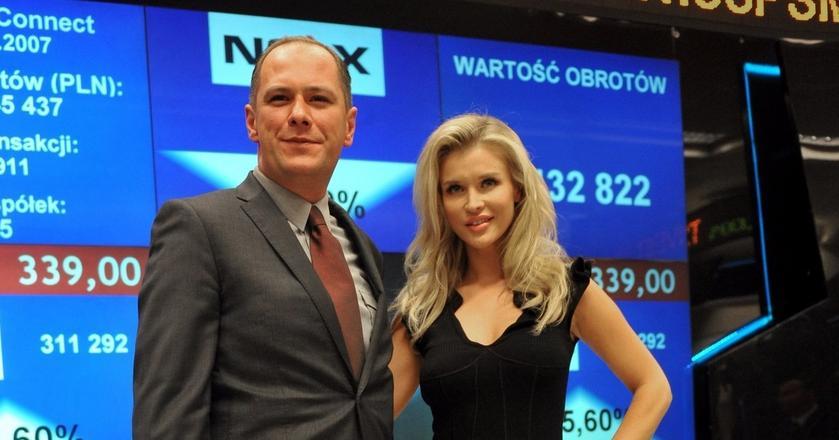 Debiut spółki Esotiq & Henderson na warszawskim parkiecie w 2011 r.