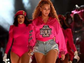 Beyonce Performs at Coachella