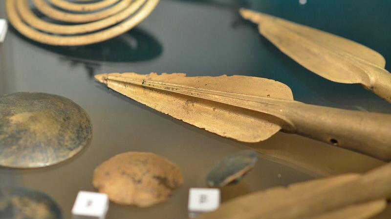 Ekspozycja archeologiczna w Muzeum Podkarpackim w Krośnie