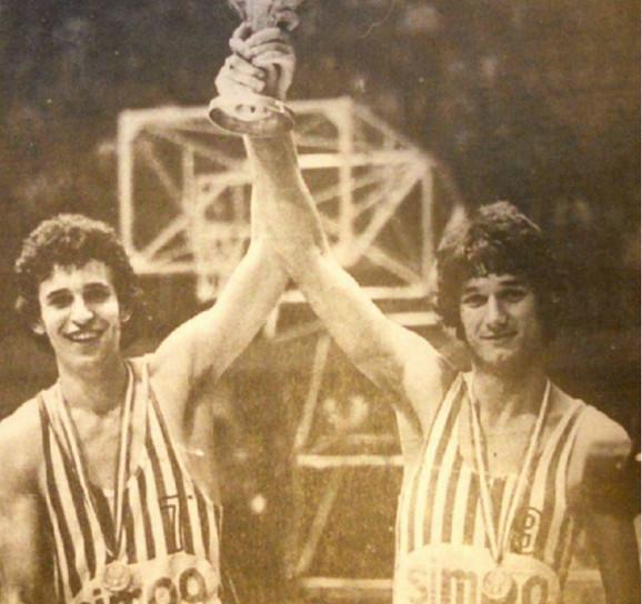 Vesko Pajović (desno)
