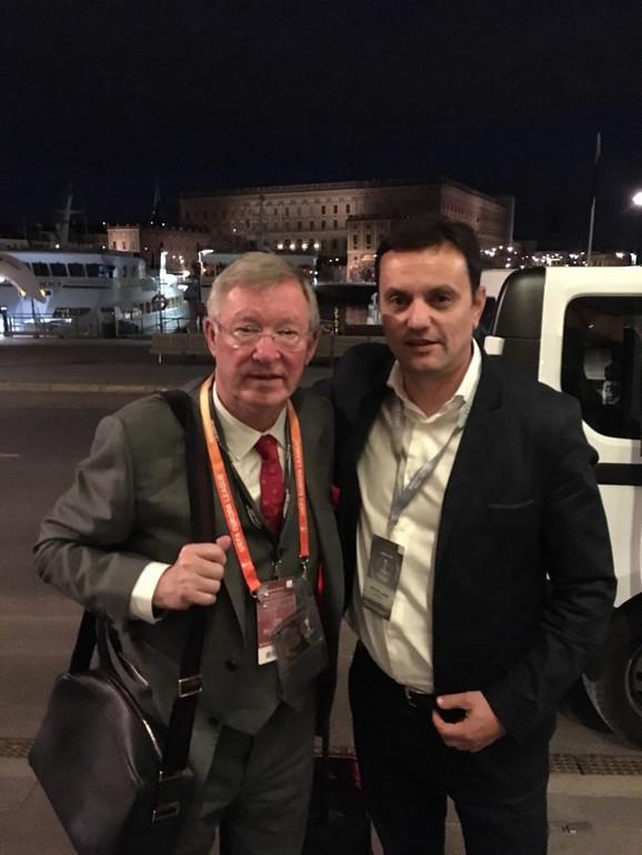 Aleks Ferguson i Jovan Šurbatović