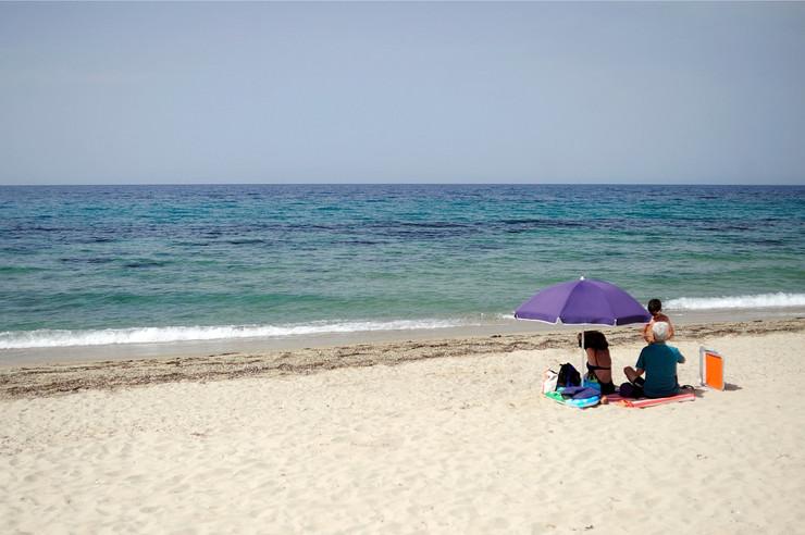 Uživanje u miru i moru