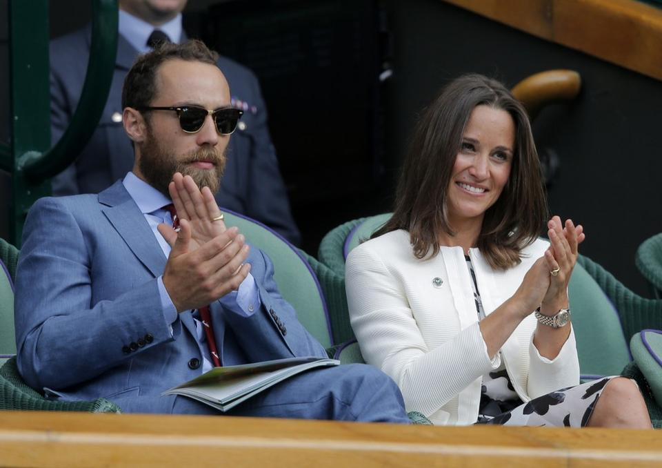 Pippa Middleton i James Middleton