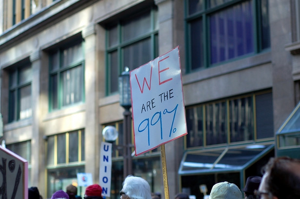 "Protest ""Occupy"" w Minneapolis, USA. Fot. miker / Shutterstock.com"