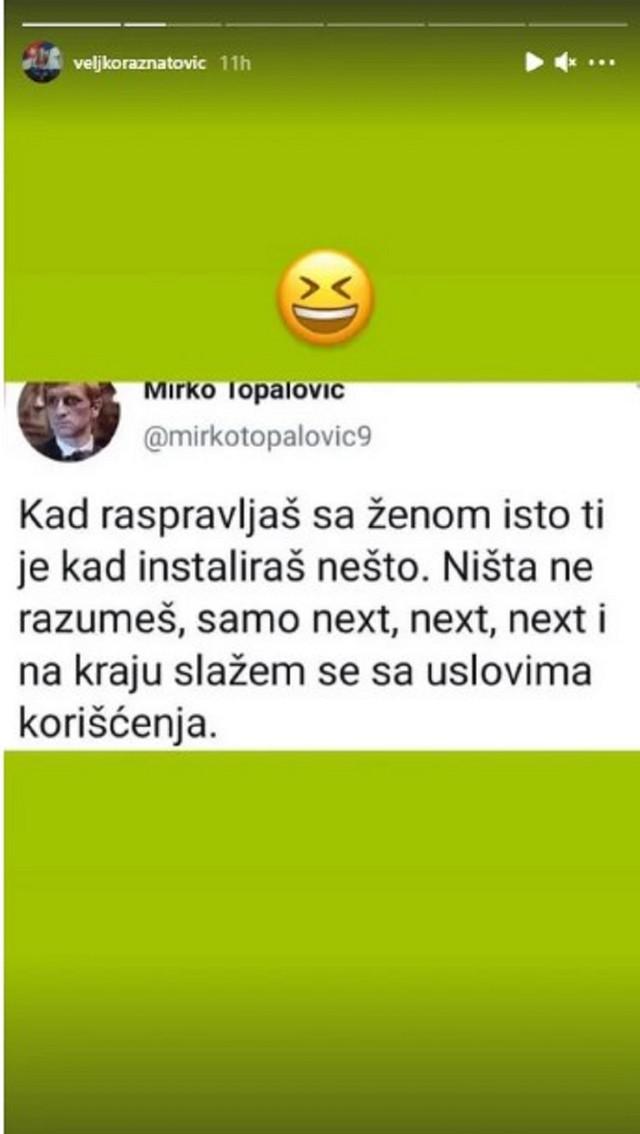 Veljko Ražnatović - objava