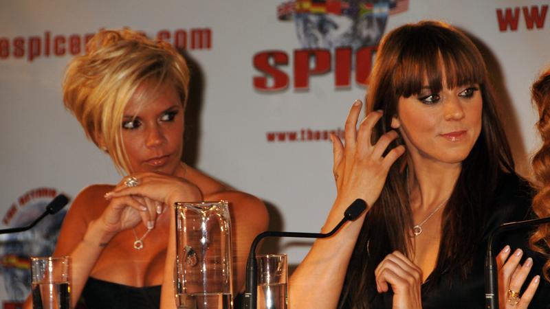Victoria Beckham i Melanie C (fot. Getty Images)