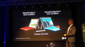 Surface 3 i Surface 4 Pro - nowe urządzenia Microsoftu trafiły do Polski