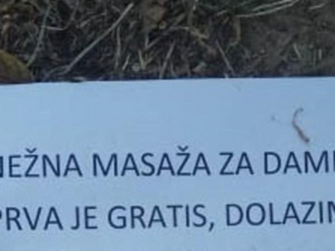 Oglas u Pančevu čiji je sadržaj GROM I PAKAO: Lik koji nudi masažu damama sebe je opisao u TRI REČI, a bolje da je ćutao